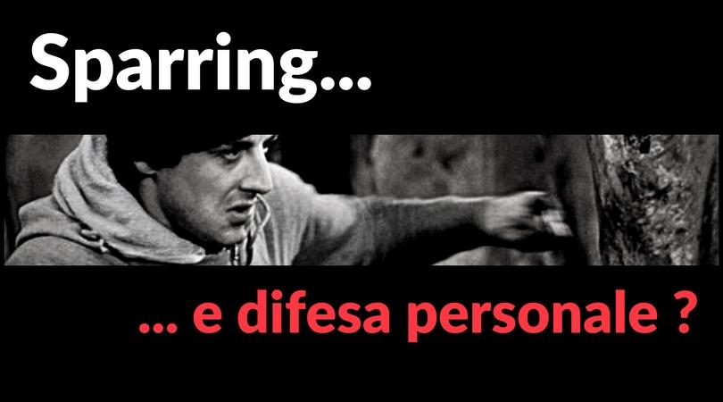 Sparring e difesa personale