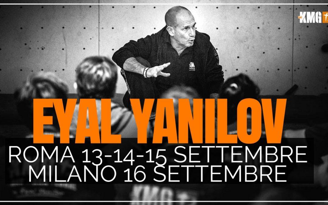 Stage di Krav Maga con Eyal Yanilov