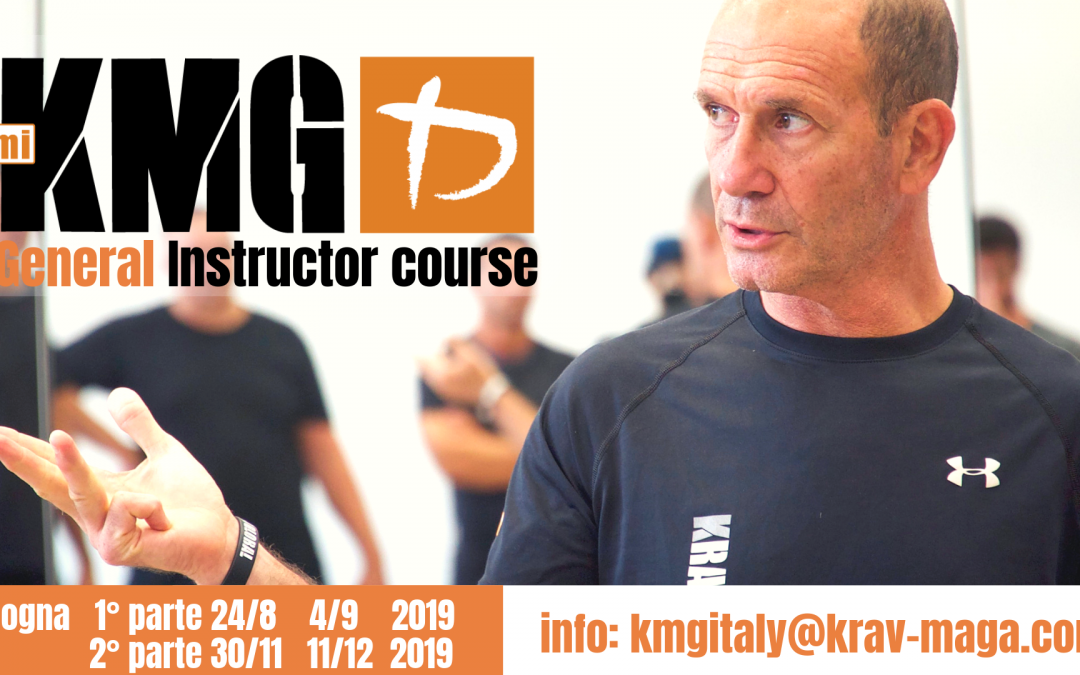 Corso istruttori Krav Maga Global 2019