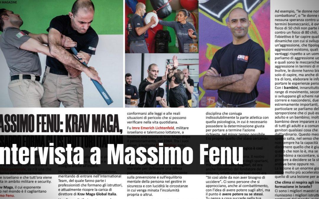 Intervista a Massimo Fenu: Il Krav Maga professionale.
